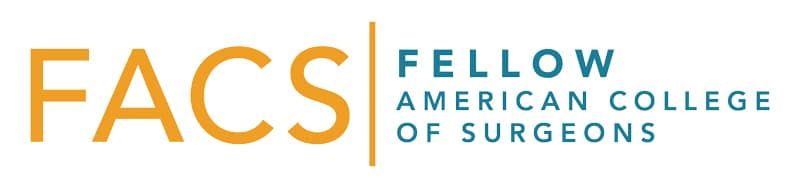 FACS - Fellow American Collerge of Surgeons